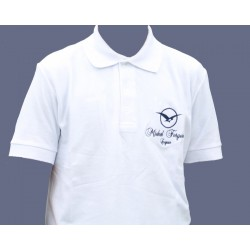 "MICHEL FORGERON"" embroidered polo shirt"
