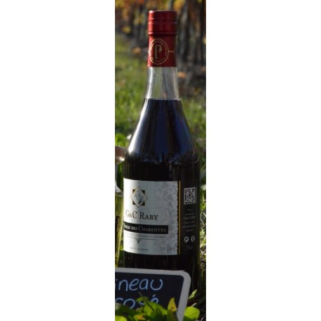 Pineau Rouge - G&C Raby Pineau des Charentes