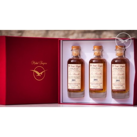 """Cognac Coffret """"Les Parcelles"""" - Michel Forgeron Cognac Grande Champagne"""